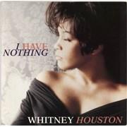 "Whitney Houston I Have Nothing UK 12"" vinyl"