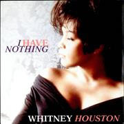"Whitney Houston I Have Nothing UK 7"" vinyl"