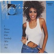Whitney Houston I Wanna Dance With Somebody UK CD single
