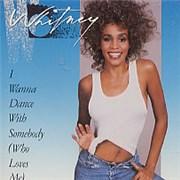 Whitney Houston I Wanna Dance With Somebody USA CD single Promo