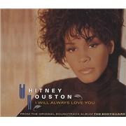 Whitney Houston I Will Always Love You USA CD single