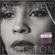 Click here for more info about 'Whitney Houston - I Wish You Love: More From The Bodyguard - Purple Vinyl + Numbered Sleeve - Sealed'