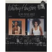 Whitney Houston I'm Your Baby Tonight UK display Promo