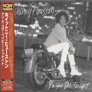 Whitney Houston I'm Your Baby Tonight Japan CD album