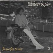 "Whitney Houston I'm Your Baby Tonight UK 12"" vinyl"