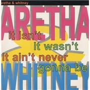 """Whitney Houston It Isn't It Wasn't It Ain't Never Gonna Be UK 12"""" vinyl"""