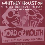 Click here for more info about 'Whitney Houston - It's Not Right But It's Okay - The Dance Mixes'