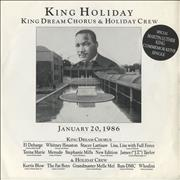 Click here for more info about 'Whitney Houston - King Holiday - sleeve Ex'