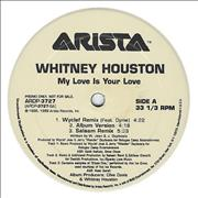 Click here for more info about 'Whitney Houston - My Love Is Your Love - Wyclef Mix'