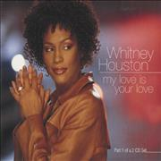 Whitney Houston My Love Is Your Love UK CD single