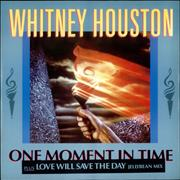 Click here for more info about 'Whitney Houston - One Moment In Time - Olympic p/s'