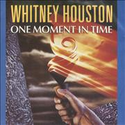 "Whitney Houston One Moment In Time UK 7"" vinyl"