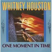 """Whitney Houston One Moment In Time UK 12"""" vinyl"""