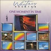 """Whitney Houston One Moment In Time Germany 12"""" vinyl"""