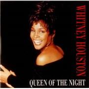 "Whitney Houston Queen Of The Night UK 7"" vinyl"