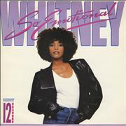 "Whitney Houston So Emotional UK 12"" vinyl"