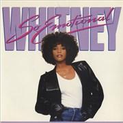 """Whitney Houston So Emotional UK 7"""" vinyl"""