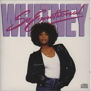 Whitney Houston So Emotional USA CD single Promo