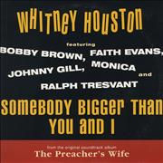 Click here for more info about 'Whitney Houston - Somebody Bigger Than You And I'