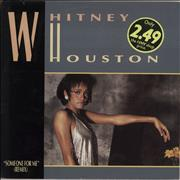 "Whitney Houston Someone For Me UK 12"" vinyl"