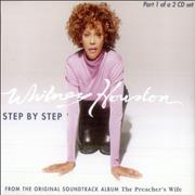 Whitney Houston Step By Step - Part 1 Europe CD single