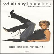 Click here for more info about 'Whitney Houston - ...Whatchulookinat - Chiffon Bag + PR'