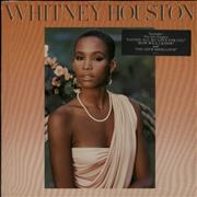 Whitney Houston Whitney Houston - Hype stickered sleeve Germany vinyl LP