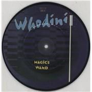 "Whodini Magic's Wand UK 7"" picture disc"