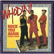 "Whodini Rock You Again (Again & Again) UK 7"" vinyl"