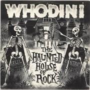 "Whodini The Haunted House Of Rock - Green vinyl UK 12"" vinyl"