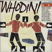 "Whodini The Whodini Electro 5 Track E.P. UK 12"" vinyl"
