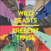 Click here for more info about 'Wild Beasts - Present Tense - Autographed'