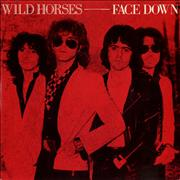 Click here for more info about 'Wild Horses - Face Down'