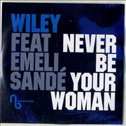 Wiley Never Be Your Woman UK CD-R acetate Promo