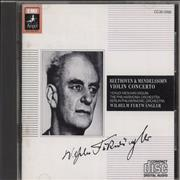 Click here for more info about 'Wilhelm Furtwängler - Beethoven & Mendelssohn: Violin Concerto'
