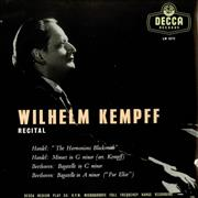 Click here for more info about 'Wilhelm Kempf - Recital'