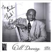 Click here for more info about 'Will Downing - Autographed Promotional Photograph'