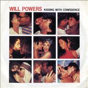 Click here for more info about 'Will Powers - Kissing With Confidence - P/S'