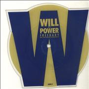 Will To Power Baby I Love Your Way / Freebird Medley UK shaped picture disc