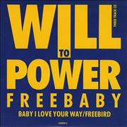 Will To Power Baby I Love Your Way UK CD single