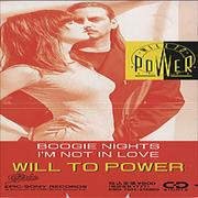 "Will To Power Boogie Nights Japan 3"" CD single"