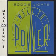 Will To Power Boogie Nights UK CD single
