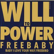 "Will To Power Freebaby EP UK 12"" vinyl"