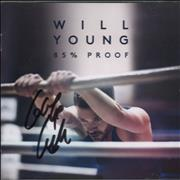 Click here for more info about 'Will Young - 85% Proof - Autographed'