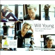 Click here for more info about 'Will Young - Don't Let Me Down'
