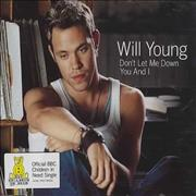 Click here for more info about 'Will Young - Don't Let Me Down/You And I'