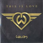 Will.I.Am This Is Love UK CD single Promo