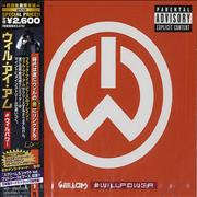 Will.I.Am #Willpower Japan 2-CD album set Promo