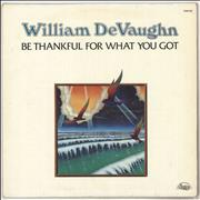 Click here for more info about 'William DeVaughn - Be Thankful For What You Got'