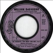 Click here for more info about 'William DeVaughn - Be Thankful For What You've Got - Jukebox'